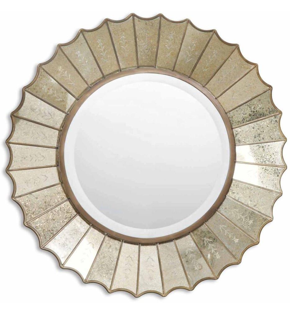 Uttermost - 08028 B - Amberlyn Sunburst Gold Mirror