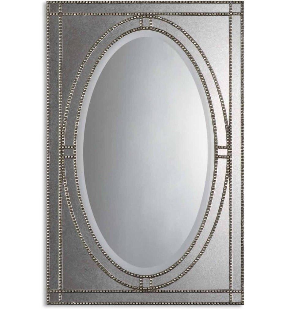 Uttermost - 08055 B - Earnestine Antique Silver Mirror