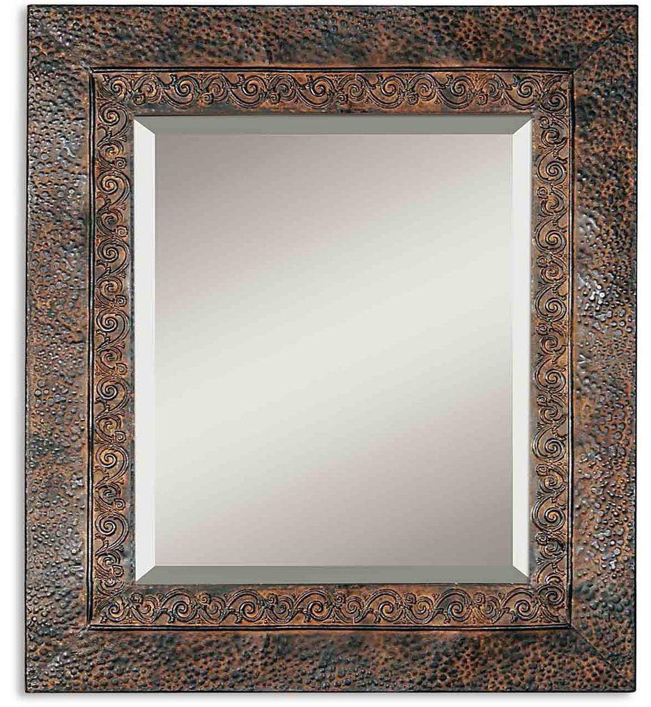 Uttermost - 11182 B - Jackson Rustic Metal Mirror