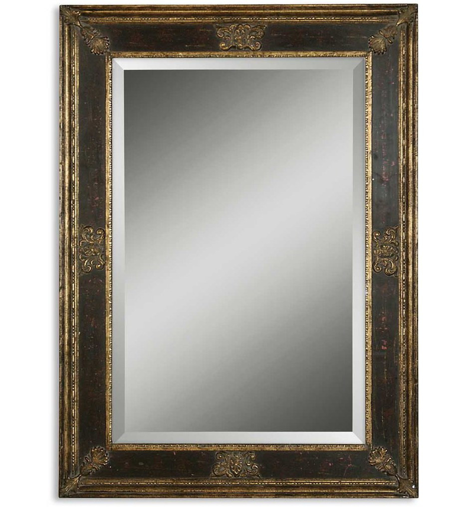 Uttermost - 11207 B - Cadence Small Antique Gold Mirror
