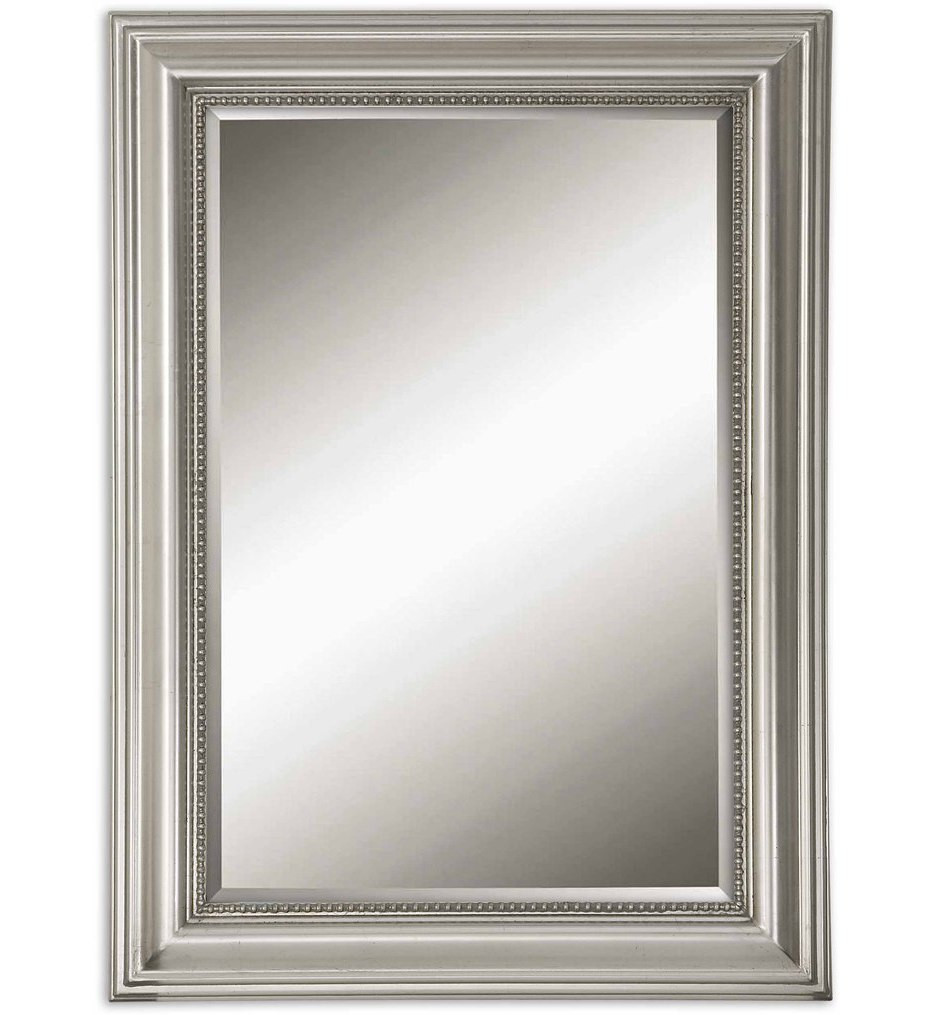 Uttermost - 12005 B - Stuart Silver Beaded Mirror