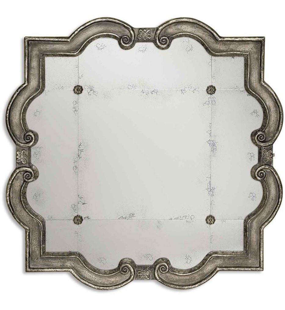 Uttermost - 12557 P - Prisca Distressed Silver Mirror