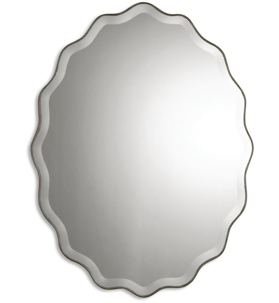 Uttermost - 12704 B - Teodora Ruffed Edge Mirror
