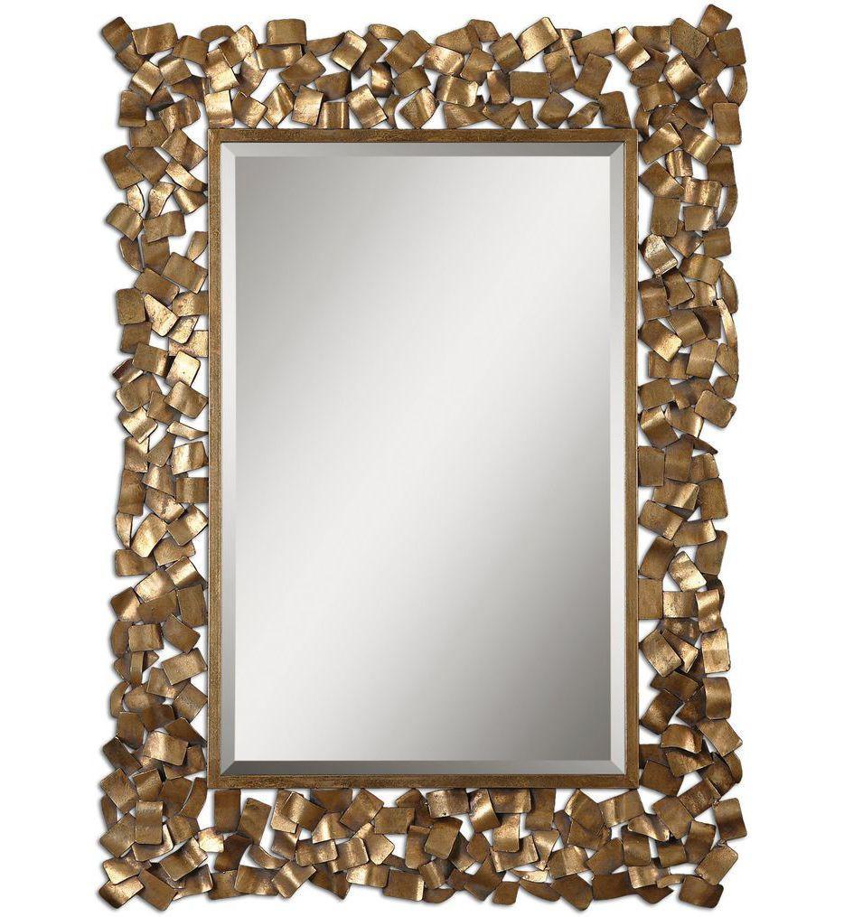 Uttermost - 12816 - Capulin Antique Gold Mirror