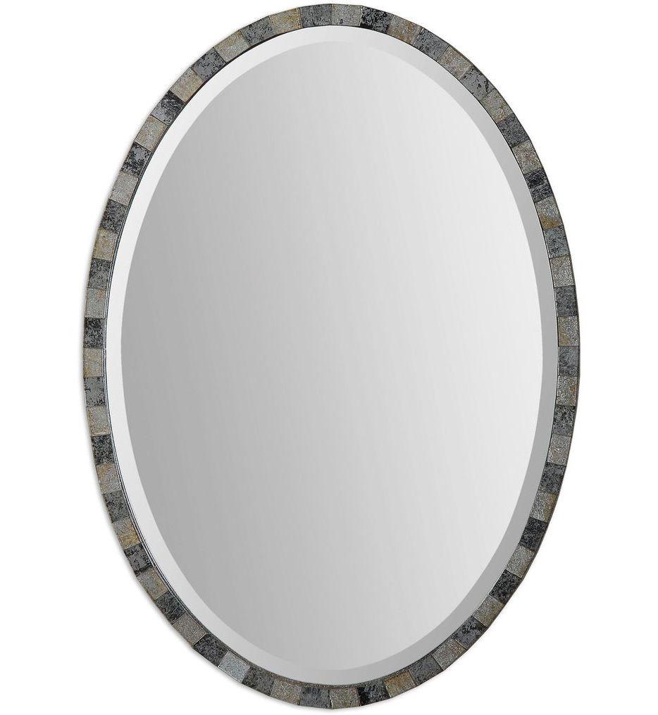 Uttermost - 12859 - Paredes Oval Mosaic Mirror