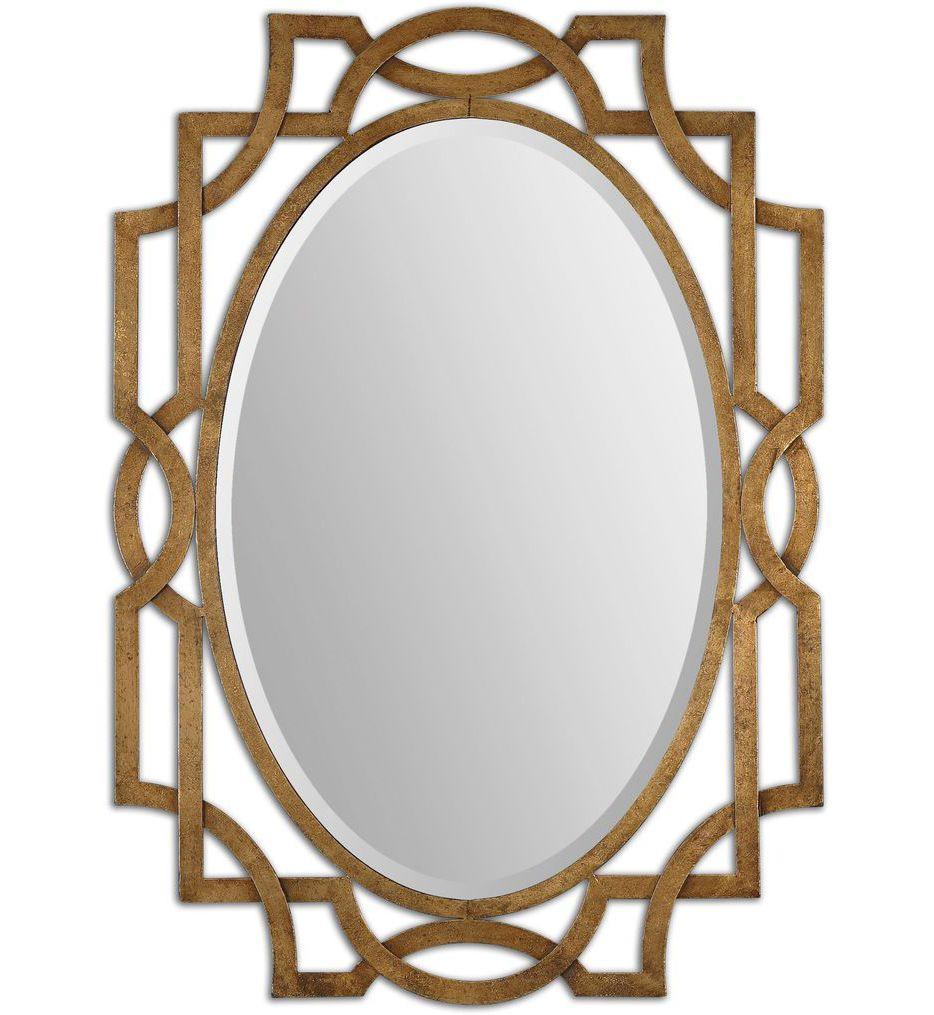 Uttermost - 12869 - Margutta Gold Oval Mirror