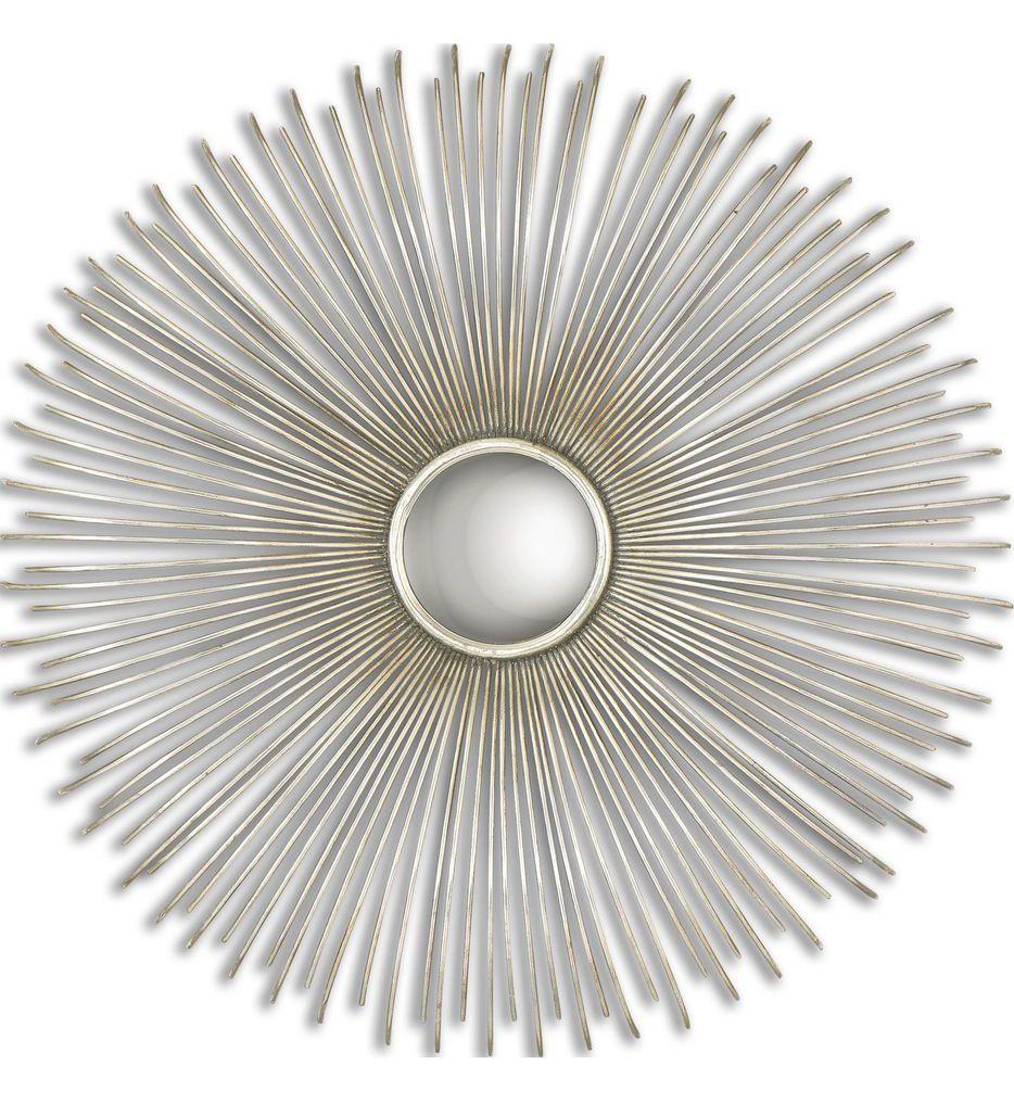 Uttermost - 12888 - Launa Round Silver Mirror