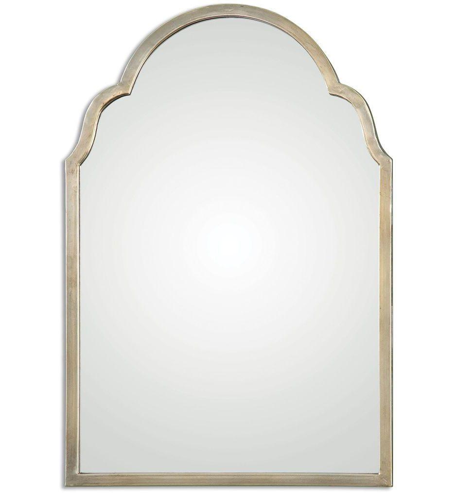 Uttermost - 12906 - Brayden Petite Silver Arch Mirror