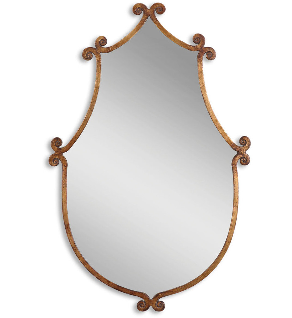 Uttermost - 13648 - Ablenay Antique Gold Mirror