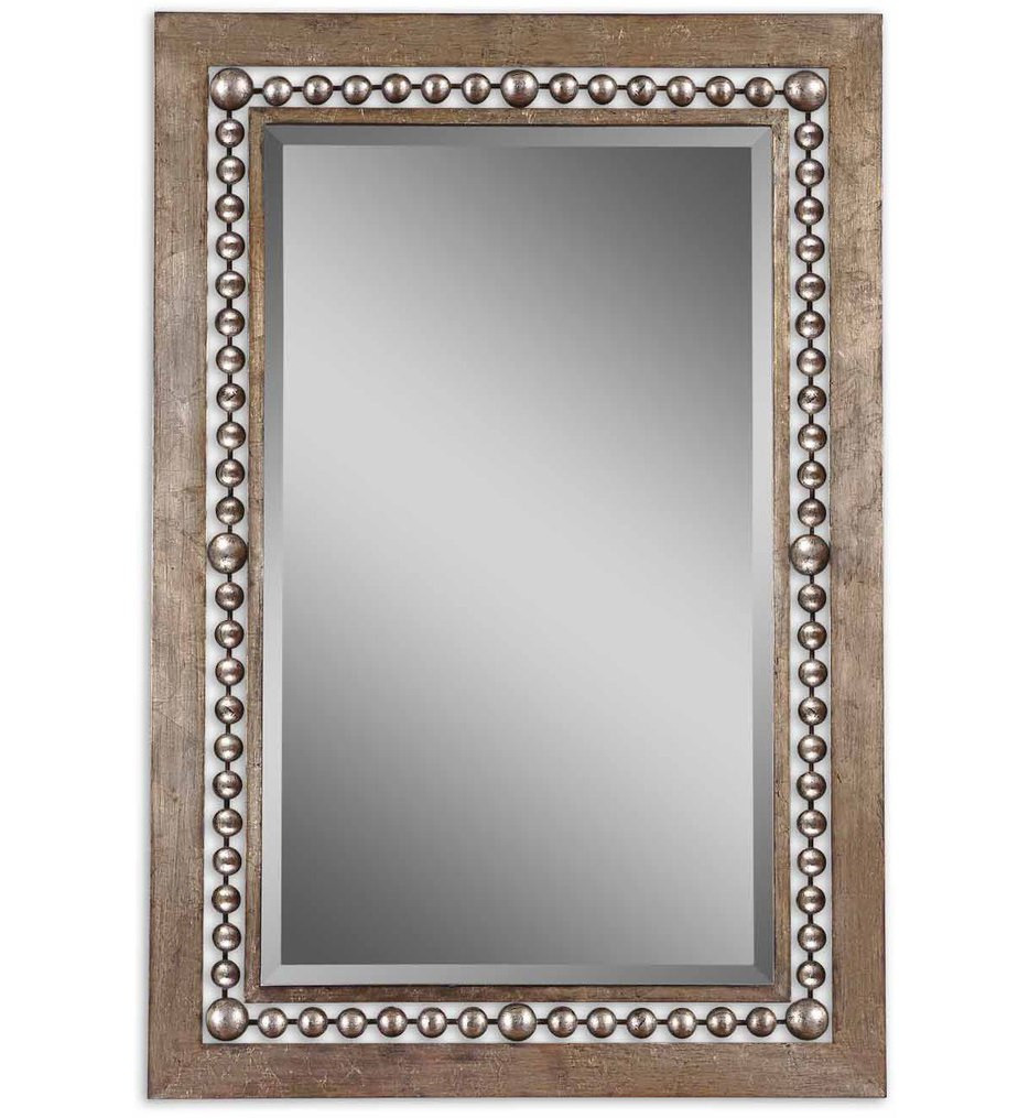 Uttermost - 13724 - Fidda Antique Silver Mirror