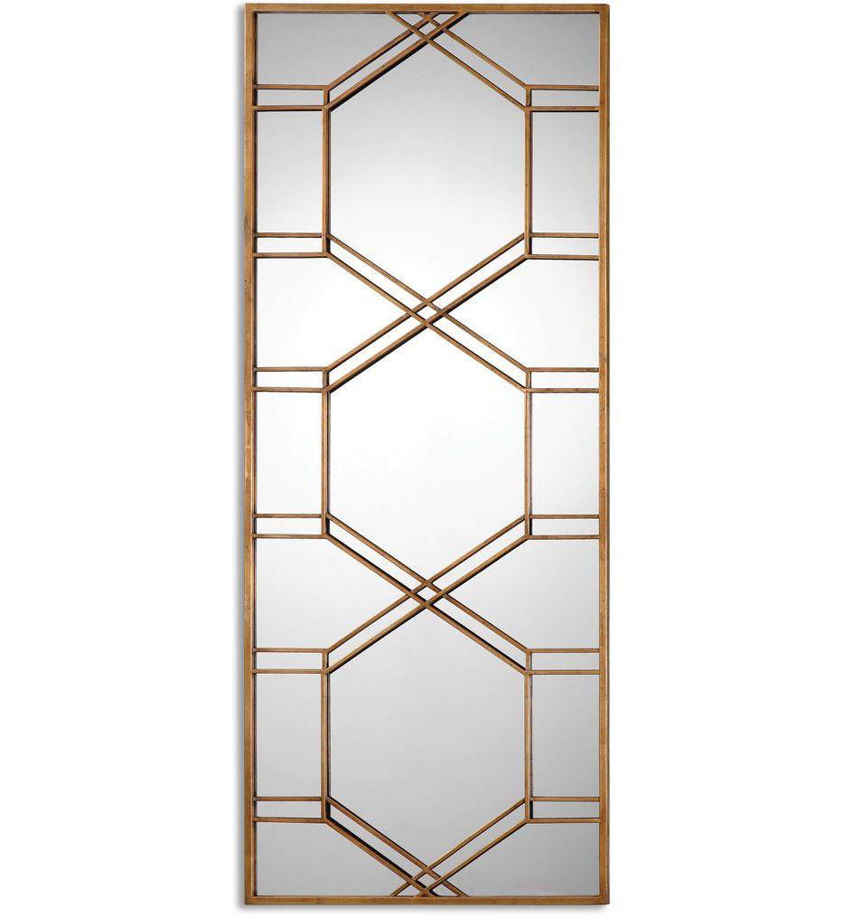 Uttermost - 13922 - Kennis Gold Leaf Leaner Mirror