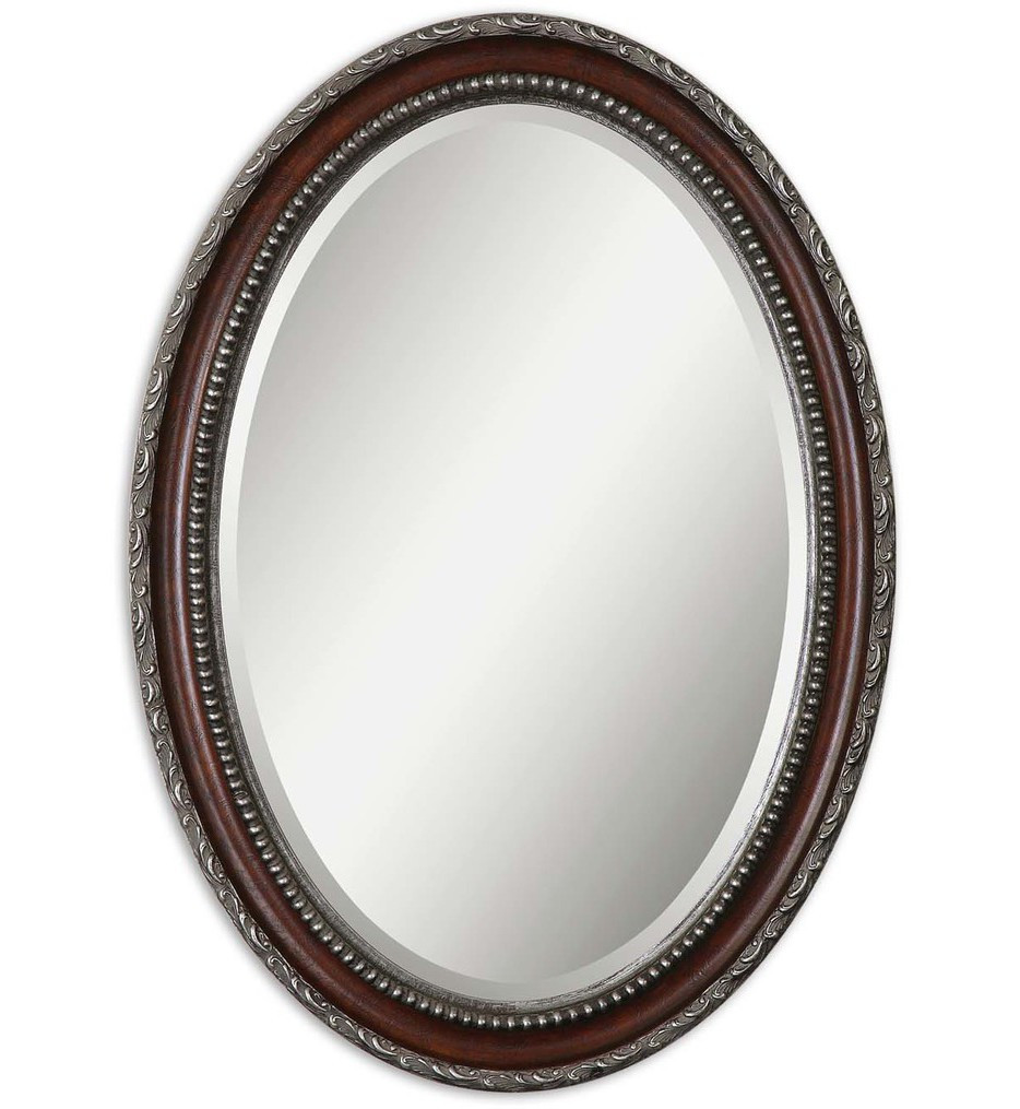 Uttermost - 14196 - Montrose Oval Silver Mirror