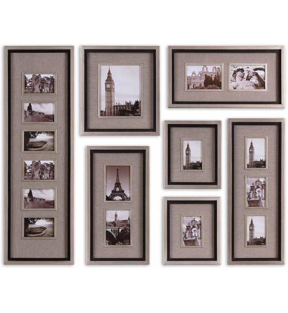 Uttermost - 14458 - Massena Photo Frame Collages (Set of 7)