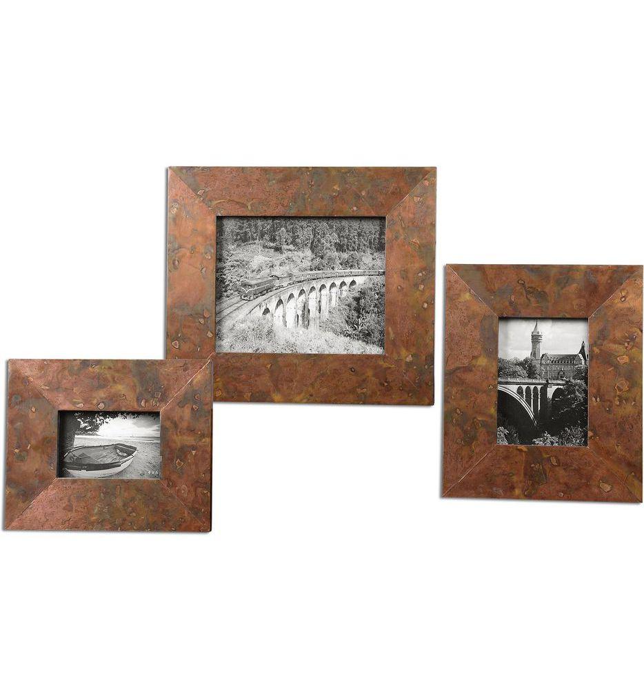 Uttermost - 18564 - Ambrosia Copper Photo Frames (Set of 3)
