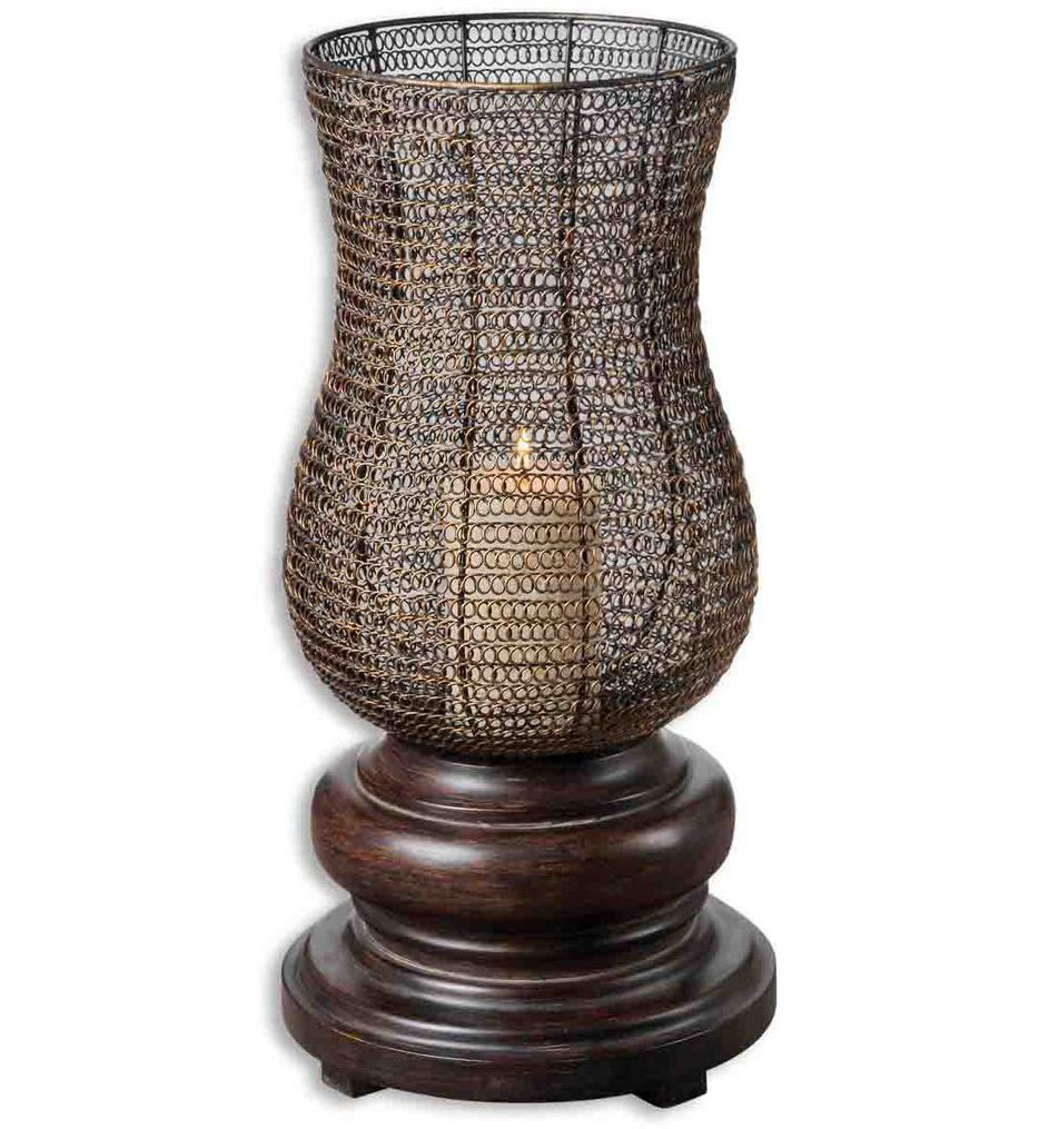 Uttermost - 19290 - Rickma Distressed Candle Holder