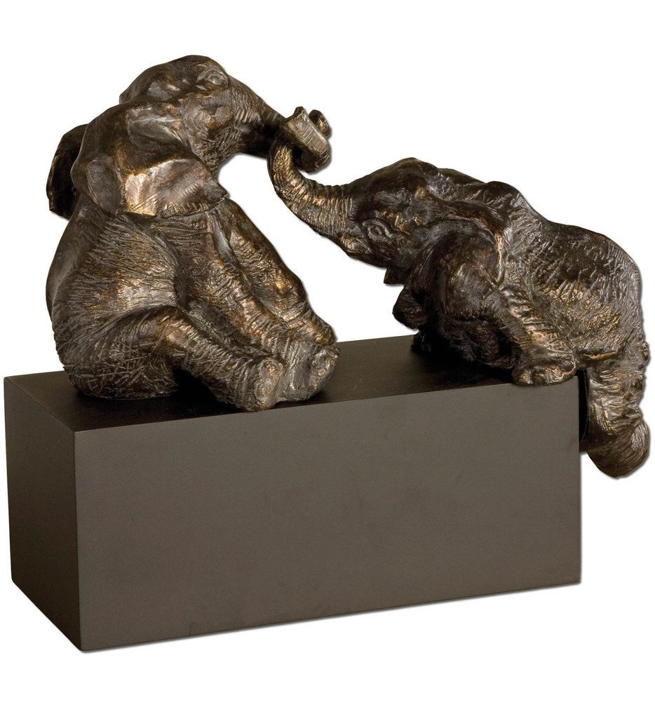 Uttermost - 19473 - Playful Pachyderms Bronze Figurines