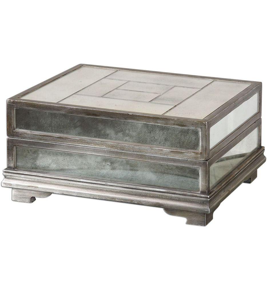 Uttermost - 19545 - Trory Mirrored Decorative Box