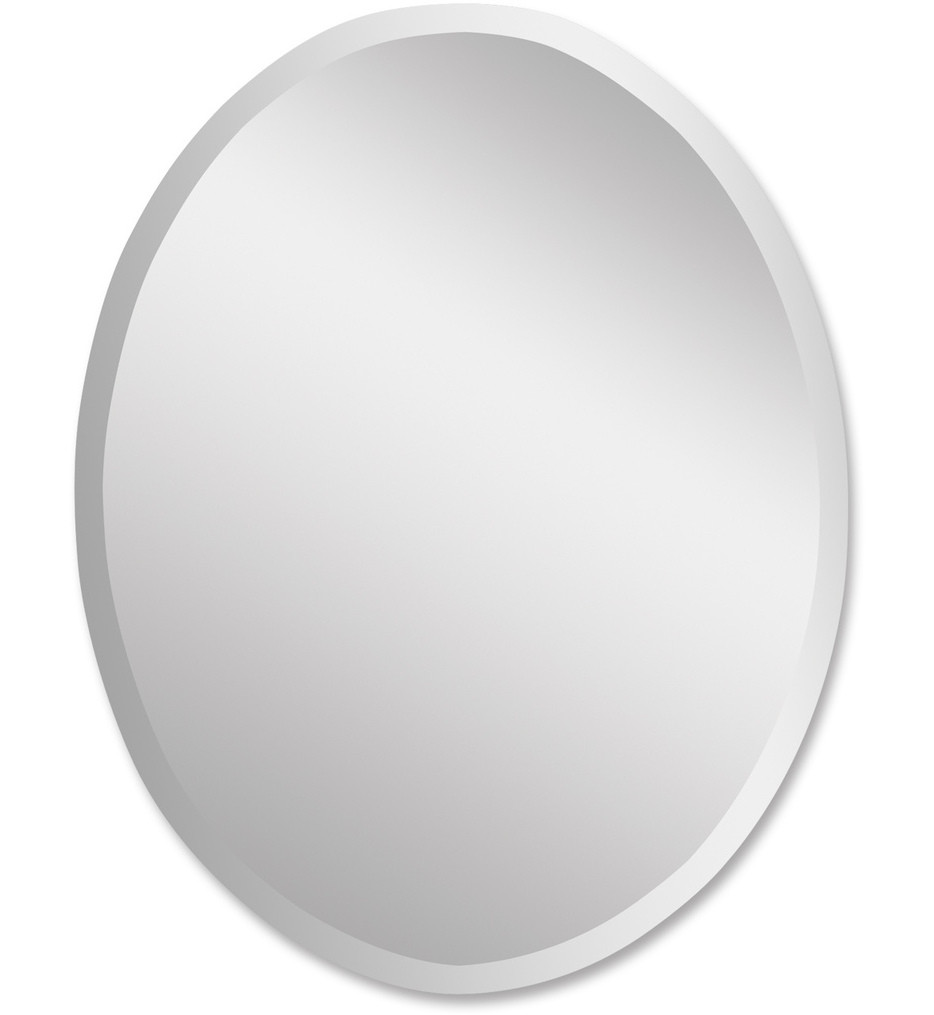 Uttermost - 19590 B - Frameless Large Oval Mirror