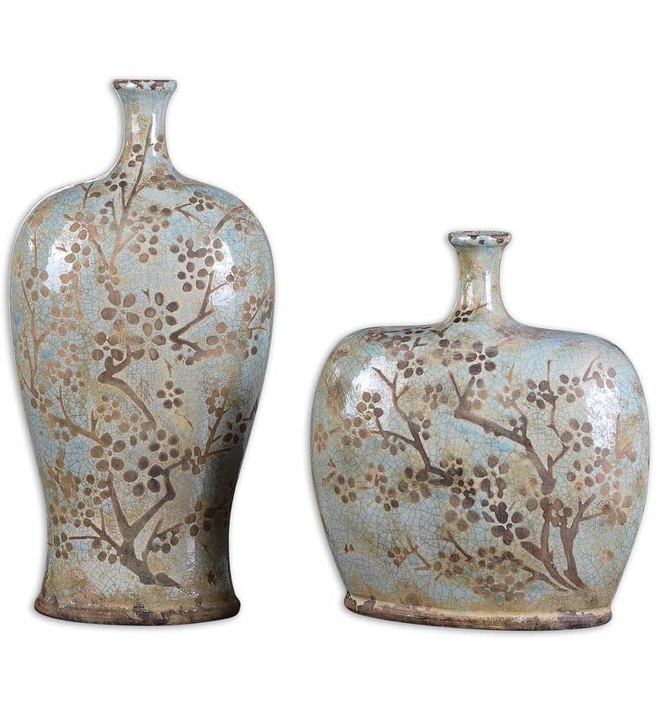 Uttermost - 19658 - Citrita Decorative Ceramic Vases (Set of 2)