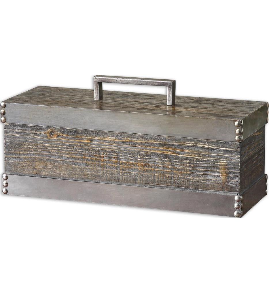 Uttermost - 19669 - Lican Natural Wood Decorative Box