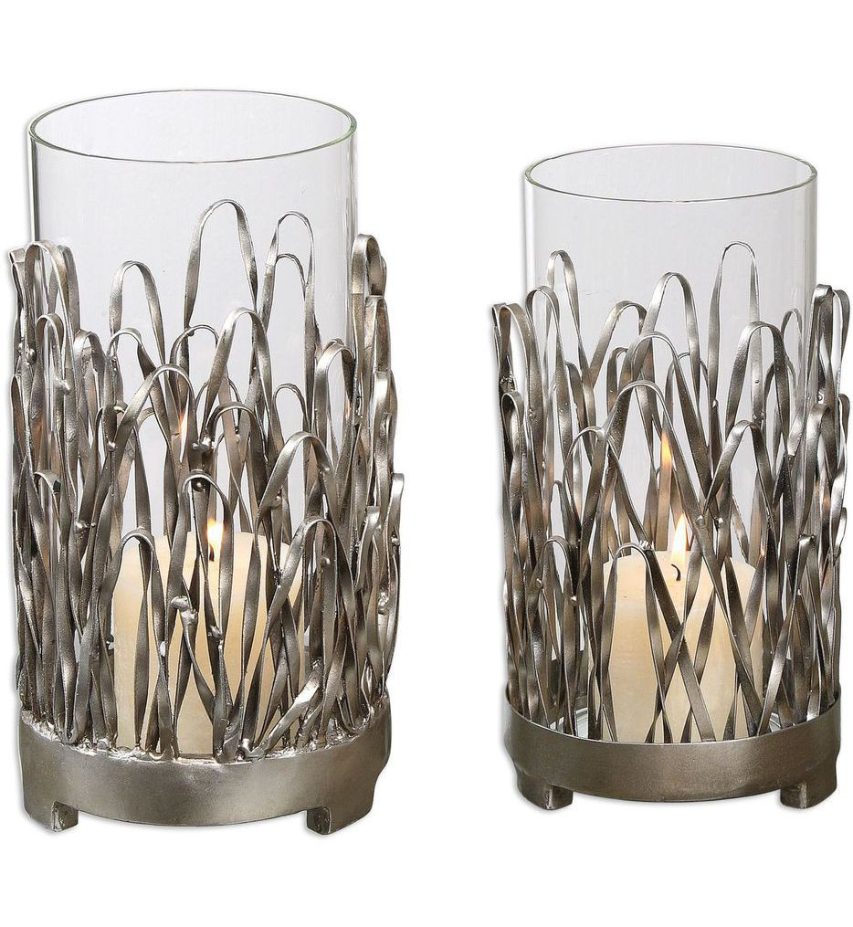 Uttermost - 19784 - Corbis Candle Holders (Set of 2)