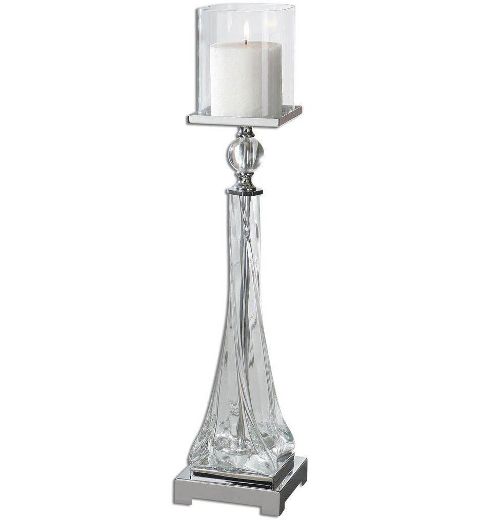 Uttermost - 19852 - Grancona Glass Candle Holder