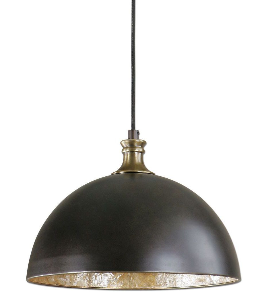 Uttermost - 22028 - Placuna 1 Light Pendant