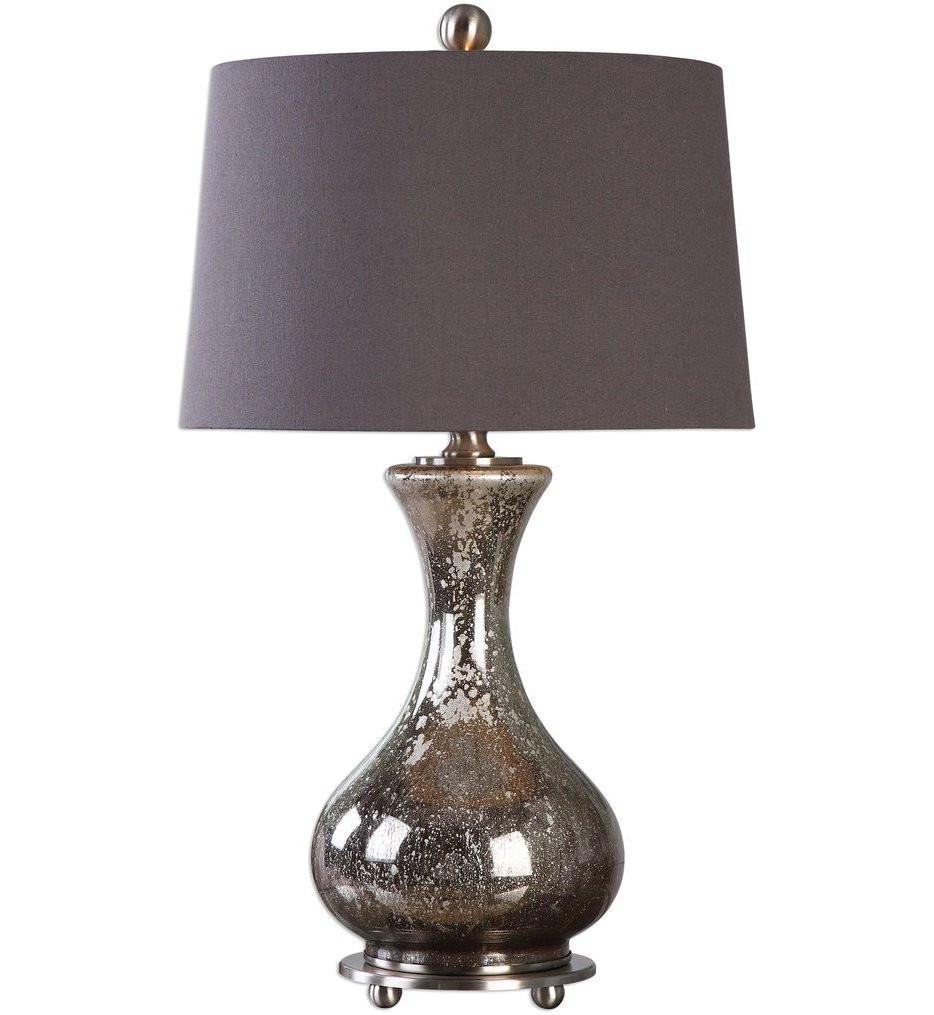 Uttermost - 27155 - Uttermost Pioverna Mercury Glass Table Lamp
