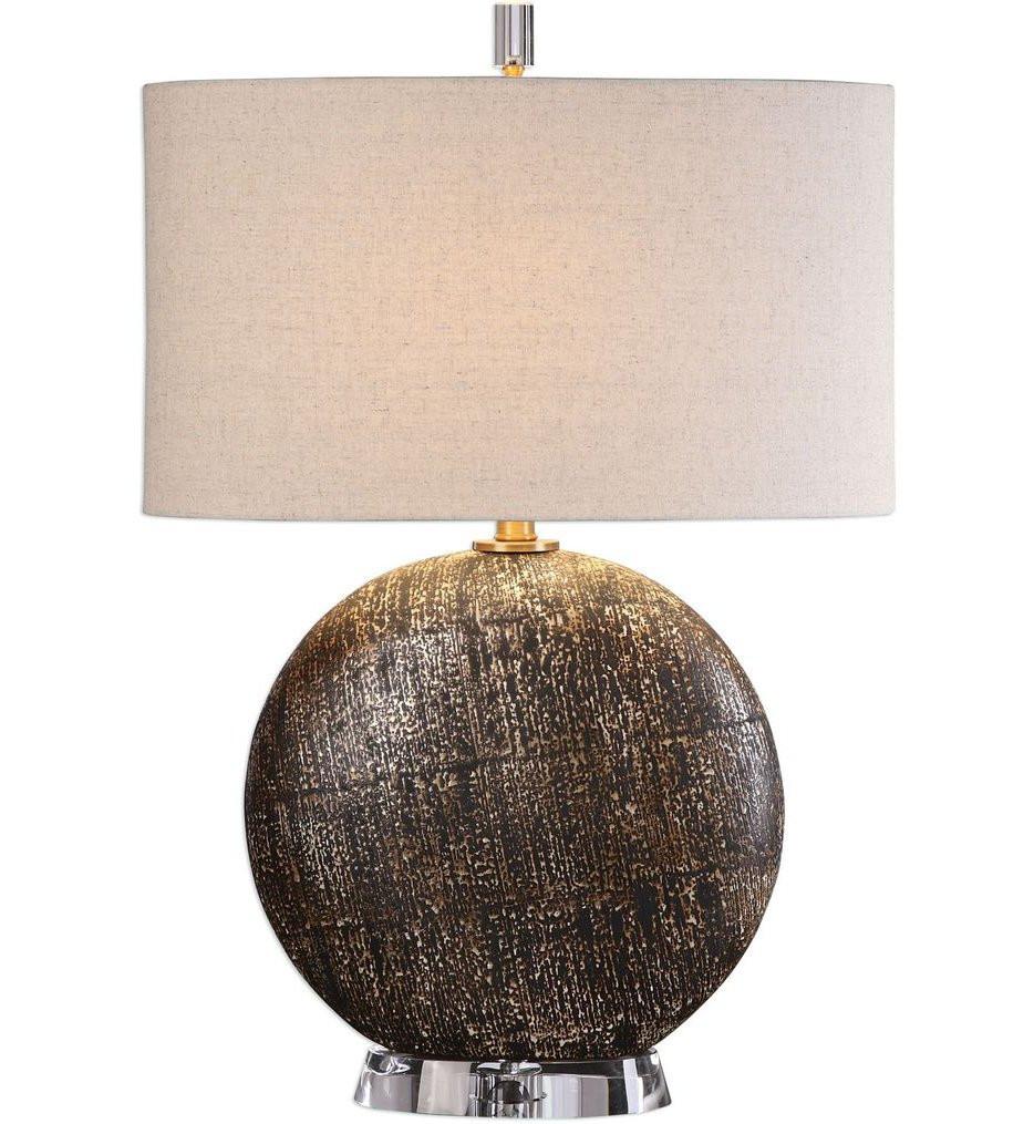 Uttermost - 27268-1 - Uttermost Chalandri Rust Bronze Lamp