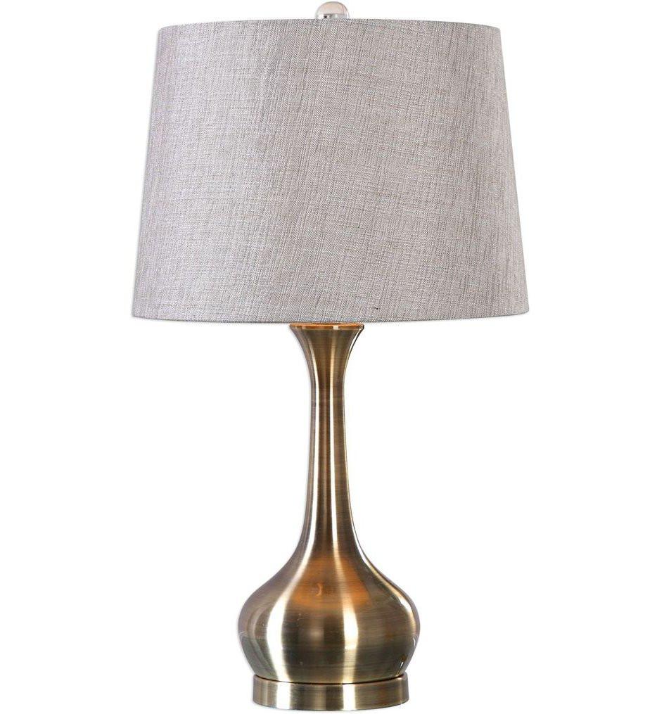 Uttermost - 27533-1 - Uttermost Balle Antiqued Brass Table Lamp