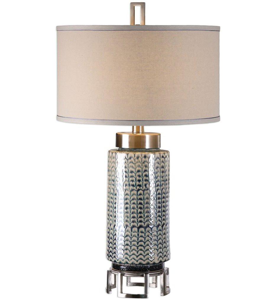 Uttermost - 27549 - Uttermost Vanora Cerulean Blue Table Lamp