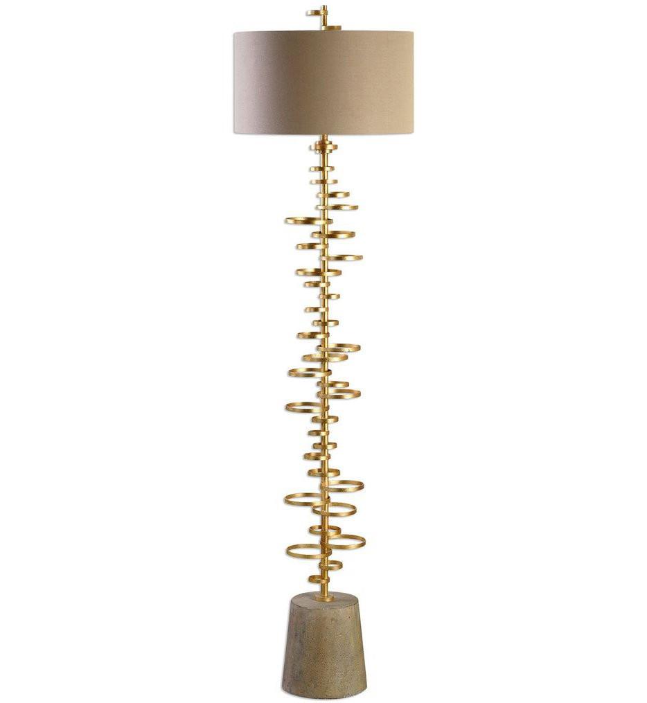 Uttermost - 28094 - Uttermost Lostine Modern Gold Floor Lamp