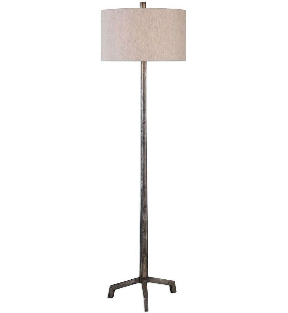Uttermost - 28118 - Uttermost Ivor Cast Iron Floor Lamp