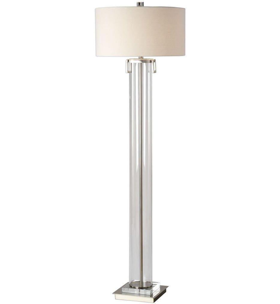 Uttermost - 28160 - Uttermost Monette Tall Cylinder Floor Lamp