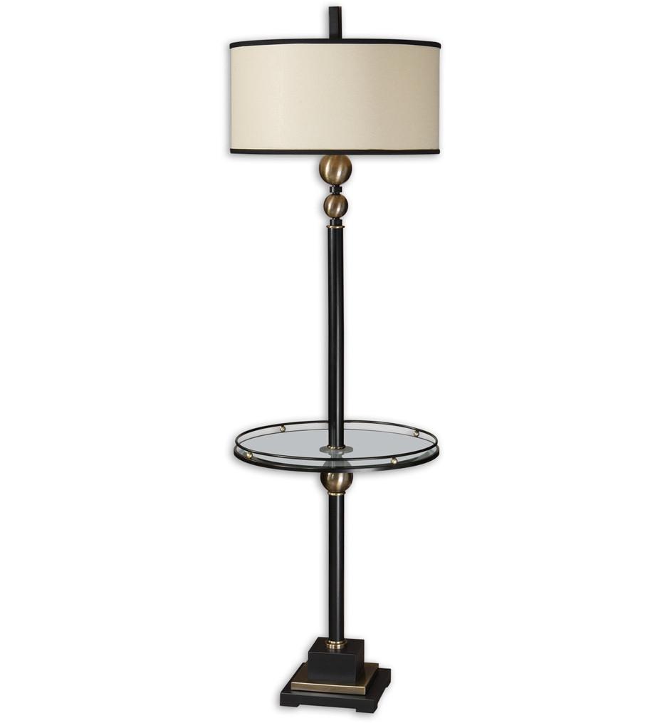 Uttermost - 28571-1 - Revolution End Table Floor Lamp
