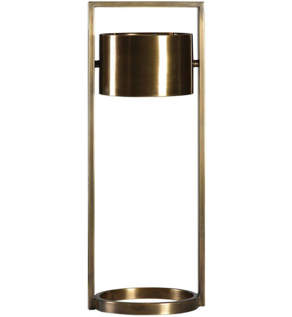 Uttermost - 29378-1 - Uttermost Ilario Suspended Drum Shade Lamp