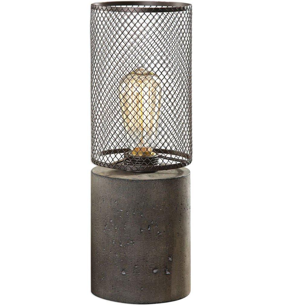 Uttermost - 29398-1 - Uttermost Ledro Thick Concrete Lamp