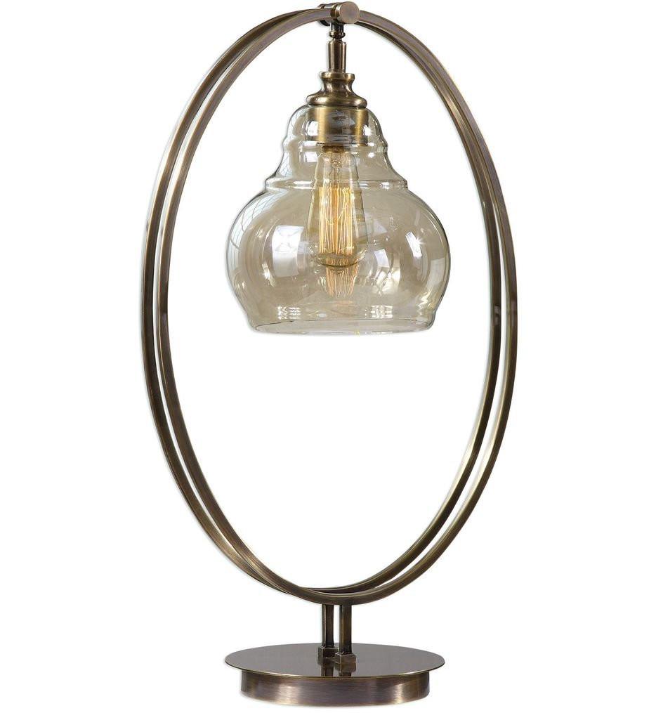 Uttermost - 29550-1 - Uttermost Elliptical Brass Edison Bulb Lamp
