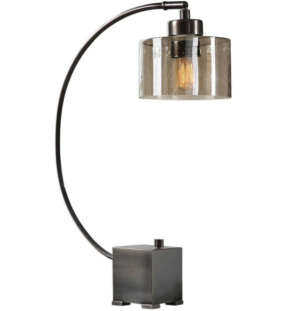 Uttermost - 29552-1 - Uttermost Cervino Arched Iron Lamp