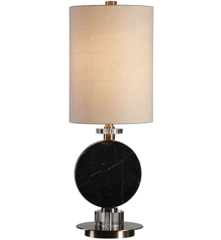 Uttermost - 29553-1 - Uttermost Morena Black Marble Lamp