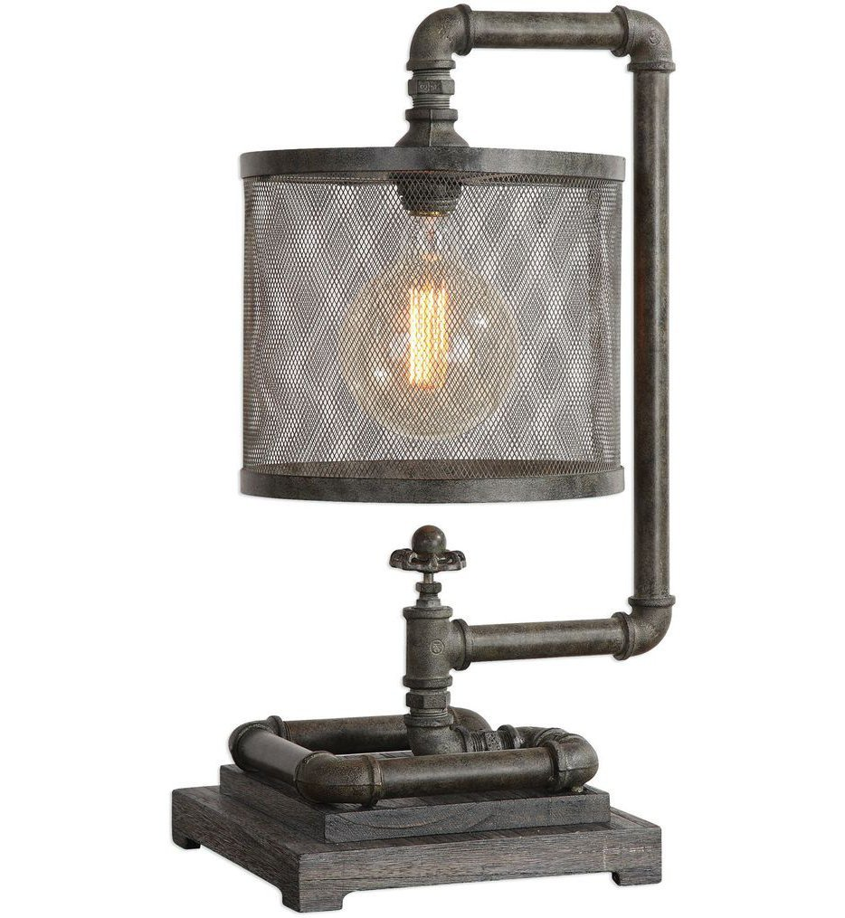 Uttermost - 29555-1 - Uttermost Bristow Industrial Pipe Lamp