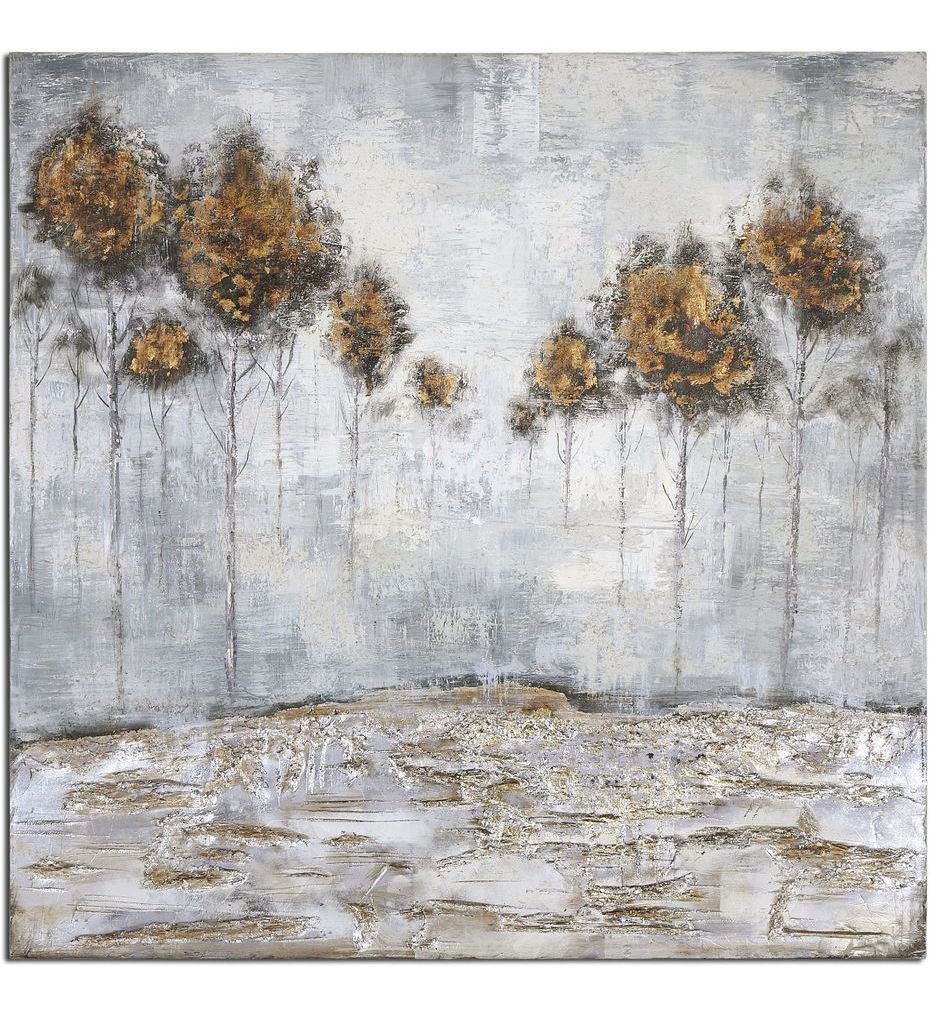 Uttermost - 31304 - Iced Trees Abstract Art