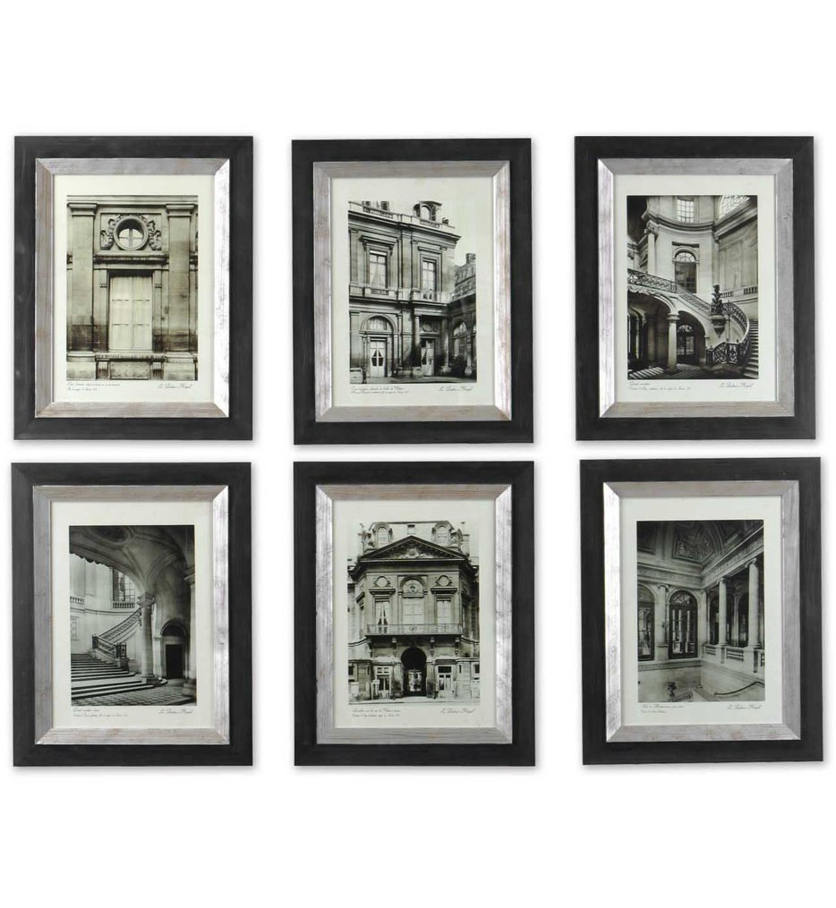 Uttermost - 33430 - Paris Scene Framed Art (Set of 6)