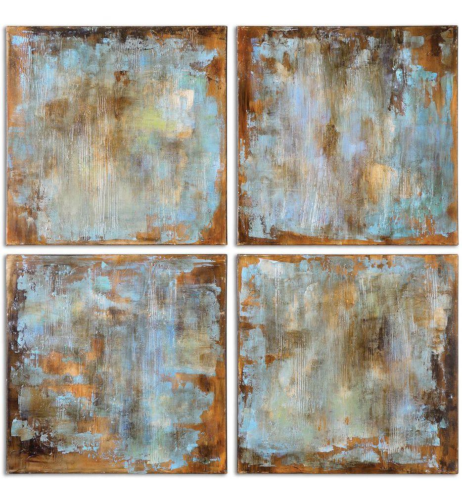 Uttermost - 35310 - Accent Tiles Modern Art (Set of 4)