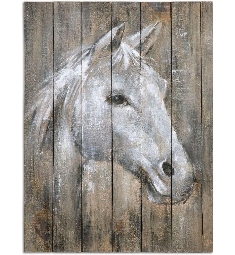 Uttermost - 35312 - Dreamhorse Hand Painted Art