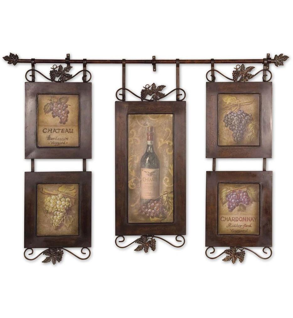 Uttermost - 50791 - Hanging Wine Framed Art
