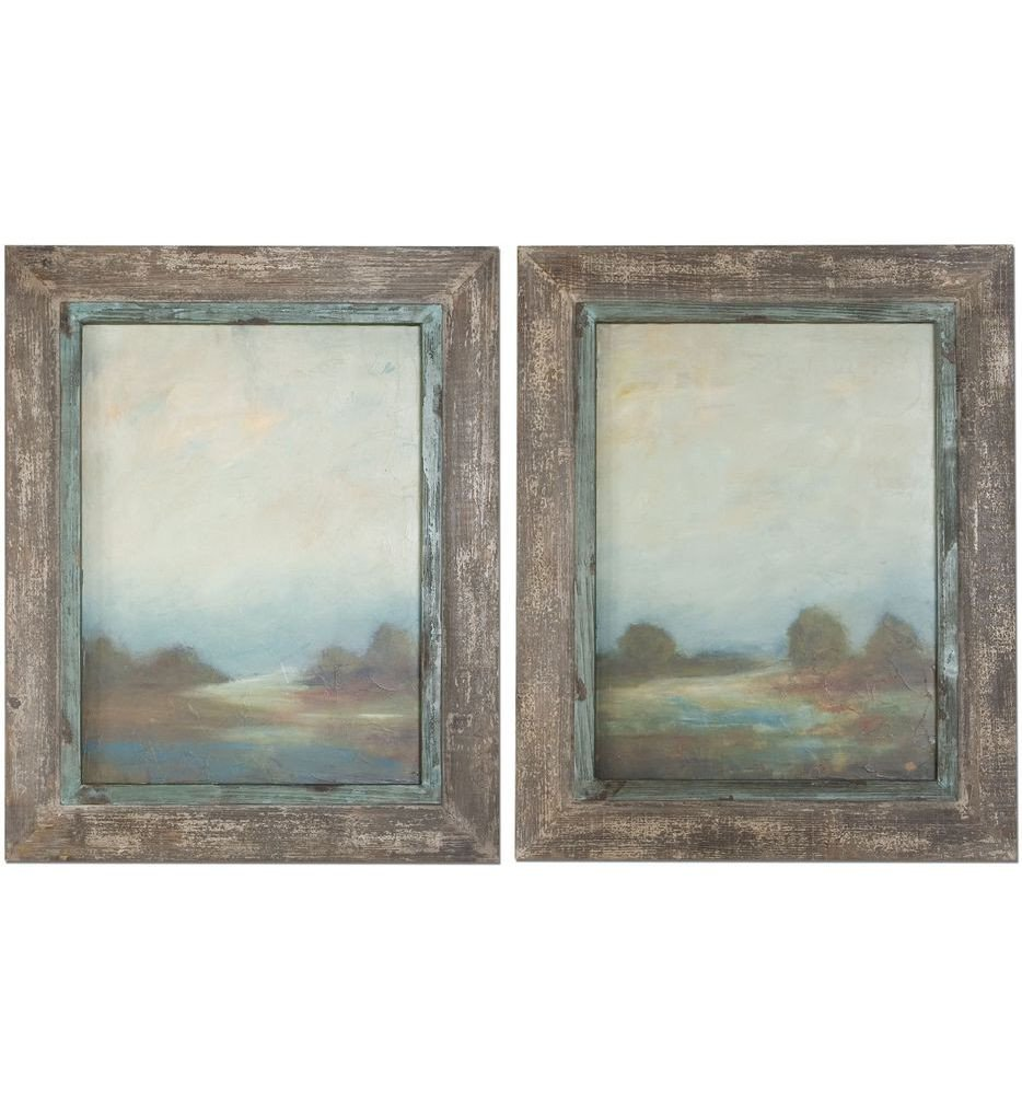Uttermost - 51076 - Morning Vistas Framed Art (Set of 2)