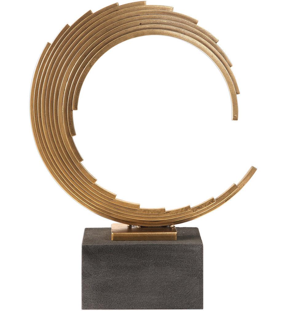 Uttermost - 18576 - Uttermost Saanvi Curved Gold Rods Sculpture