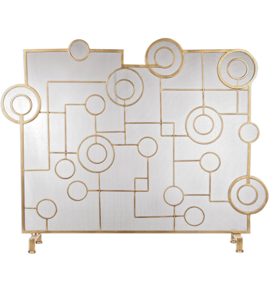 Uttermost - 18595 - Uttermost Frankie Contemporary Fireplace Screen