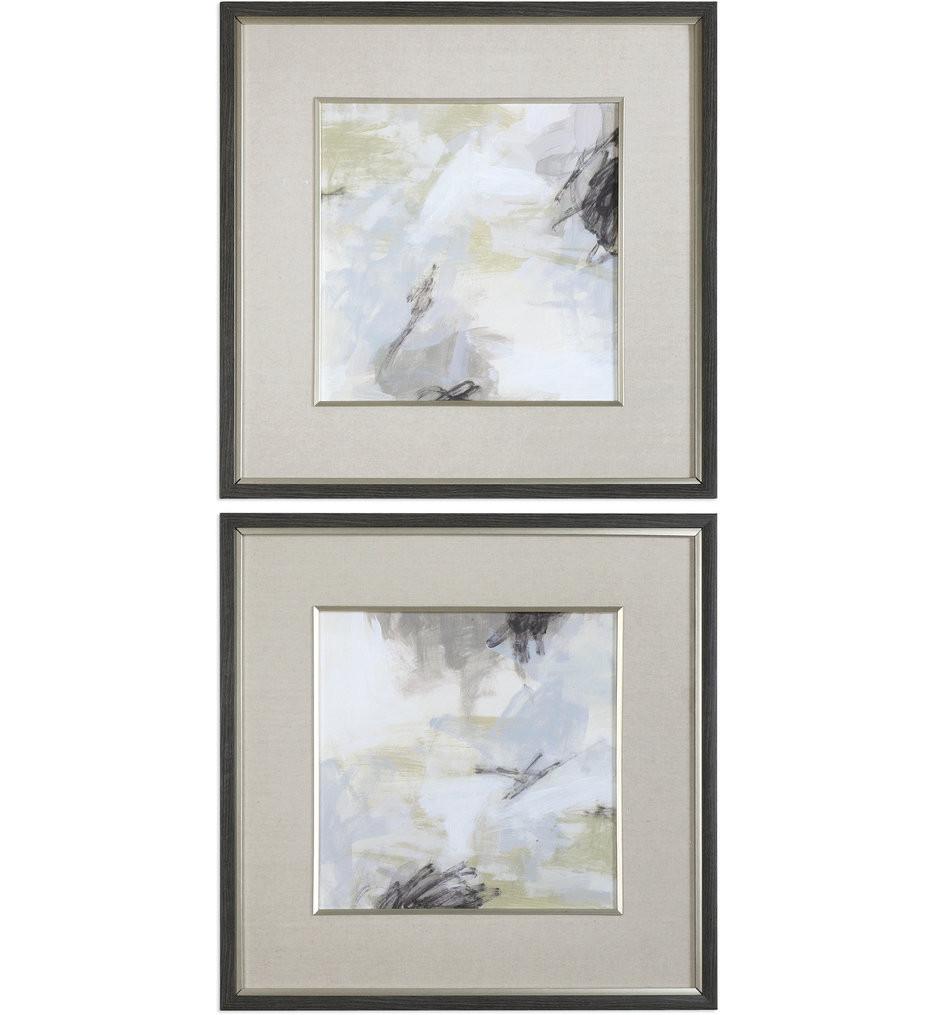 Uttermost - 33673 - Uttermost Abstract Vistas Framed Prints (Set of 2)